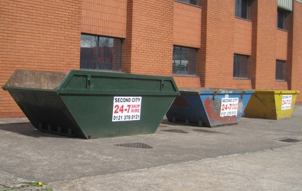 Any yard size of skip from mini to super sized refuse collection, we can reach your Birmingham or West Midland premises with a replacement any time of day